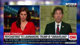 Dem Rep Calls for Congressional Body Capable of Declaring Trump Mentally Unfit for Office - Video