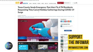 Democrats Take Over Emergency Alert System To Spread COVID Propaganda