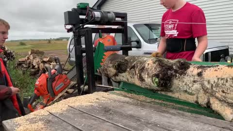 easy to use home made wood processor