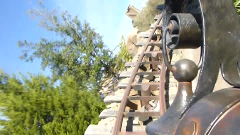 Front seat on Disney World's Seven Dwarfs Mine Train - POV
