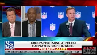 Kevin Jackson Talks About the New NFL Kneeling Controversy - Video