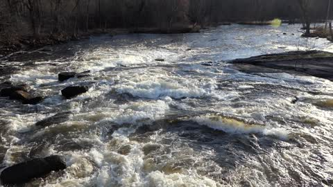 White Water Wolf River Keshena Indian Rez Downstream