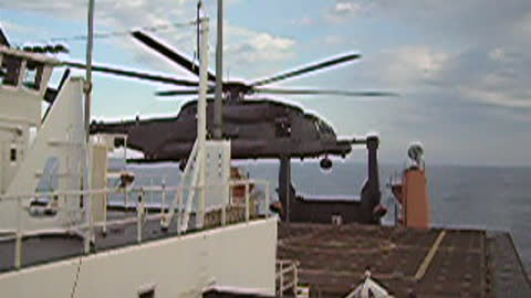 MH-53 PAVE LOW Shipboard Operations