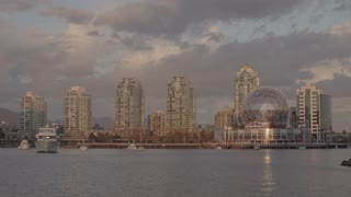 Timelapse of Science world and kayakers