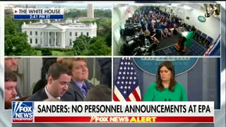 Sarah Sanders slays press for 'outrageous and ridiculous' rumors about Melania Trump