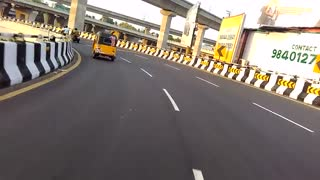 Chennai auto whelling make don  - Video