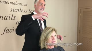 MAKEOVER: Hair Worn The Same Forever, by Christopher Hopkins, The Makeover Guy® - Video