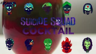 Suicide Squad Cocktail - A Killer Drink - Video