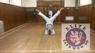 Dead men don't usually show off ! ITF Tae Kwon Do, Isle of Arran, Featuring MC Welch  - Video
