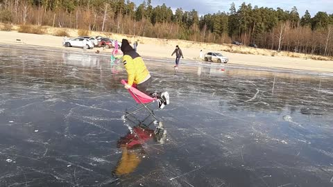 ice- chair skate