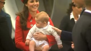 The Duchess of Cambridge's newest addition is due in April - Video