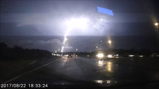 Slow Motion Lightning Strike - Video