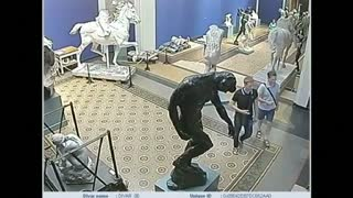 Rodin sculpture stolen from Danish museum - Video