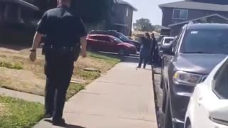 RAW VIDEO: Stockton police officer, suspect dead after shooting