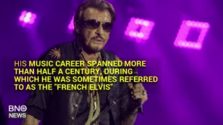 Singer Johnny Hallyday, the 'French Elvis,' Dead at 74 - Video