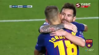 Golazo de Leo Messi vs Juventus - Video