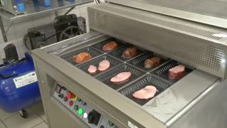 Polish scientists develop low-calorie, low-fat pork - Video