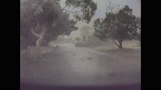 Driving in a Sudden Storm Cell