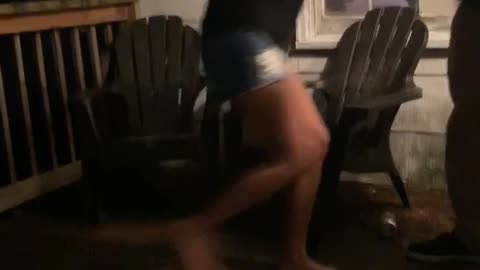 Beer Can Kick Fail