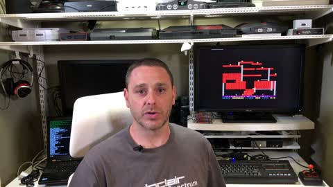 How I improved the ZX Spectrum experience using an SD Card and HDMI Cable