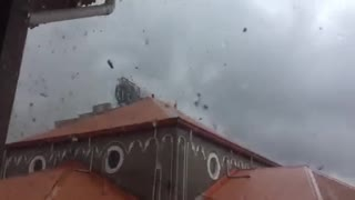 Terrifying Footage Of A Ravaging Tornado In The Philippines  - Video