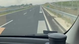Listening to Republic and Road 67 on Road 67 in Hungary