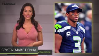 Russell Wilson BUSTED! Caught Googling Random Compliments to Use on Ciara - Video