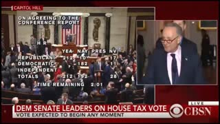 Chuck Schumer Contradicts Himself