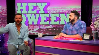 Hey Qween! BONUS  Jai Rodriguez Loves Lily Tomlin - Video