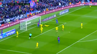 Gol de Messi vs Las Palmas - Video