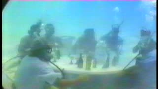 Scuba Divers Have Some Drinks Underwater - Video