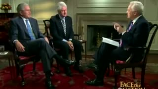 CBS: Bush and Clinton Admit they are Practically Family (Vote Hitlery 2016!)