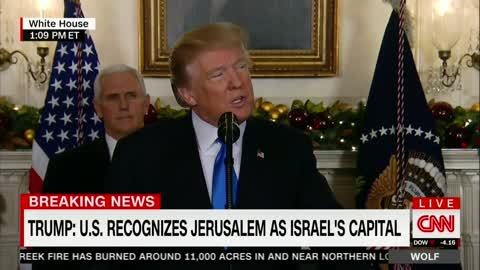Trump Officially Recognizes Jerusalem as Capital of Israel: