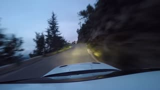 Hill Climb on Curvy Road - Video