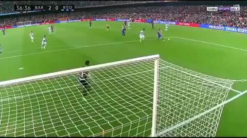 Gooooal Leo Messi vs Real Sociedad 2-0