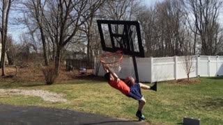 Trick Shot Gone Wrong