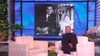 Ellen Degeneres Talks About Father After He Passed Away - Video