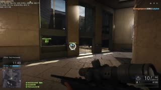 Battlefield Hardline Beta Gameplay on NVIDIA GTX 760 - Video