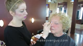 MAKEOVER! Work with my Naturally Curly Hair! By Christopher Hopkins,The Makeover Guy® - Video