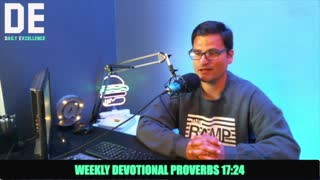 Proverbs 17:24 Devo With Pastor Anthony