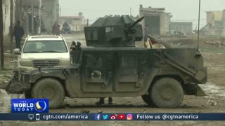 Bad weather slows Iraqi forces as they battle for western Mosul - Video