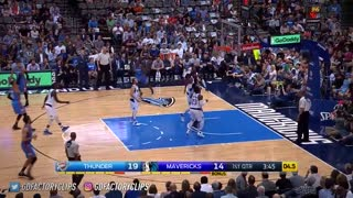 Russell Westbrook Activates BEAST MODE Against Dallas, ANOTHER TRIPLE DOUBLE!!! - Video