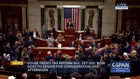 Tax Reform Just Passed in the House — The Reaction On the Floor Says It All