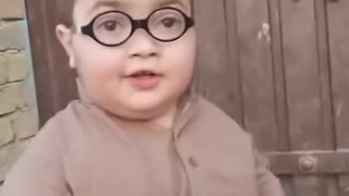 Cute Pathan Ahmed Shah is Talking Funny