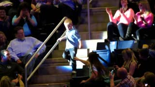 Dancing Boy Completely Steals The Show During Rascal Flatts Concert - Video