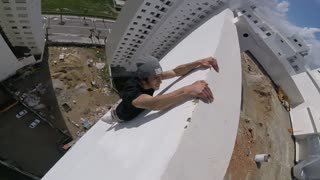Risky High Rise Workout in Morocco - Video