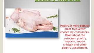 European poultry imports - The power of quality - European poultry - Video