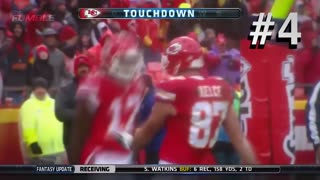Top 5 NFL Touchdown Celebrations of 2016 - Video