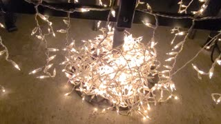 What to do with tangled Christmas lights?