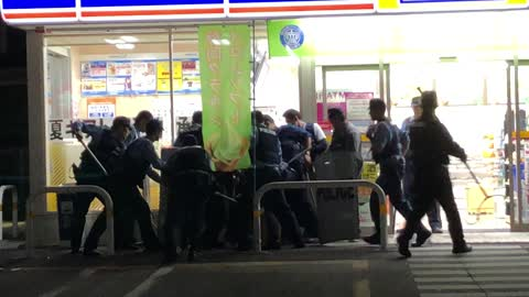 Robbery at Convenience Store